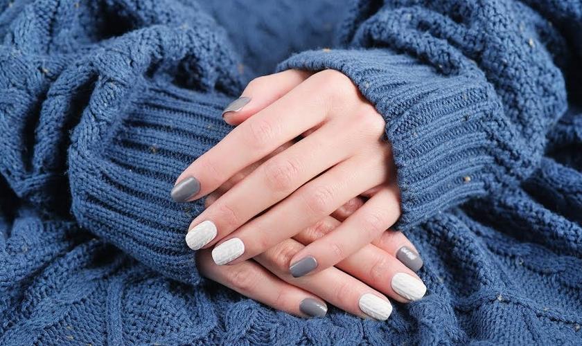 As unhas também sofrem com ressecamento nos dias mais frios. (Foto: Divulgação)