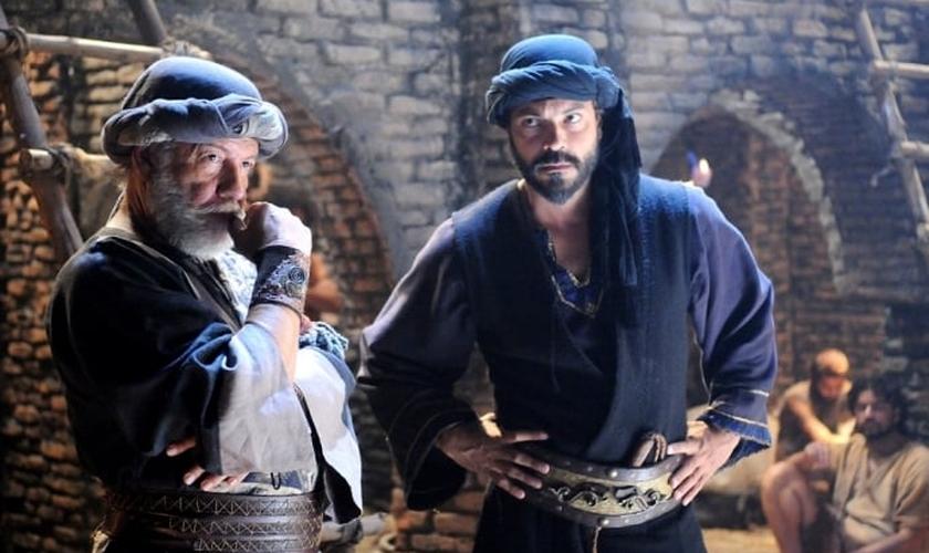 César Pezzuoli, que interpreta o vilão Zabaia em O Rico e Lázaro. (Foto: Munir Chatack)