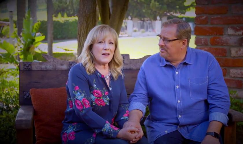 Kay (esquerda) e Rick Warren (direita) são líderes da Igreja Saddleback, na Califórnia. (Foto: Christian Today)