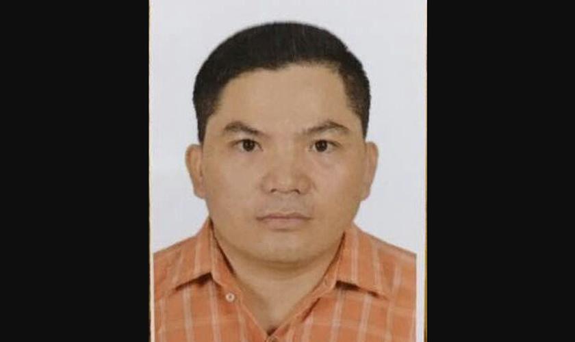 As autoridades perseguiram Ruan Haonan, um cristão que realiza encontros em sua casa.