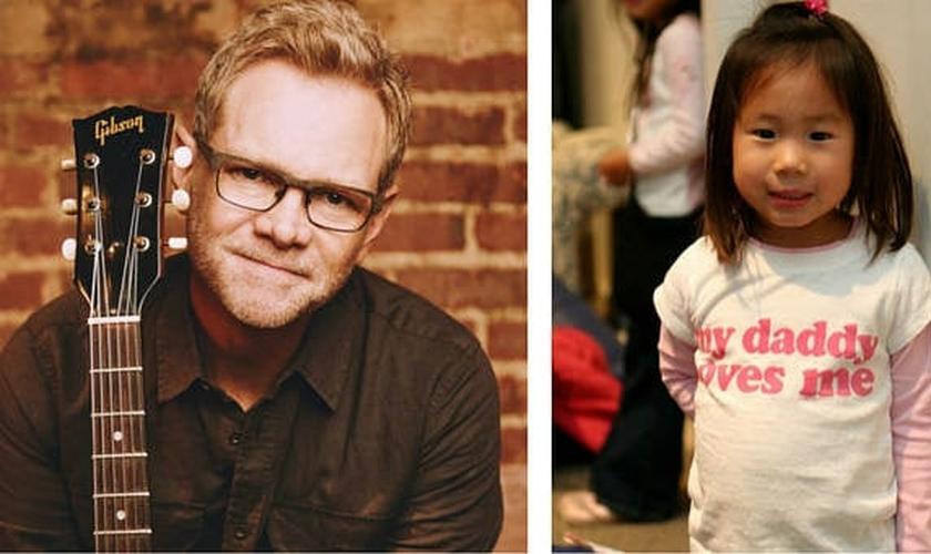 Steven Curtis Chapman (esquerda) e sua filha, Maria (direita). (Imagem: Gospel Herald)