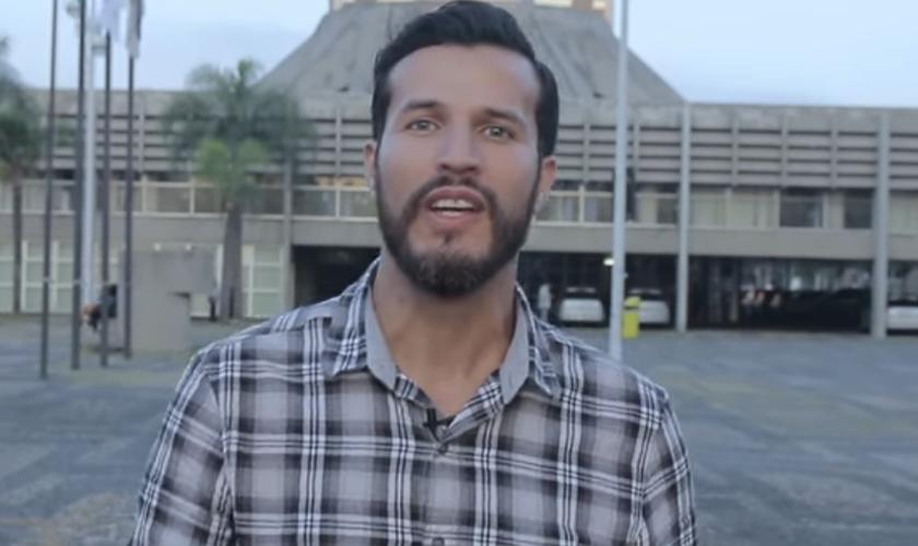 Robertt Marques é pastor da Igreja Reino em São Paulo e líder do ministério Cultura do Reino. (Foto: Reprodução).