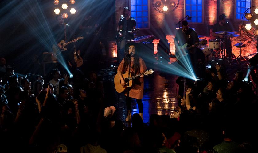 A gravação aconteceu no dia 10 de julho, em São Paulo e reuniu centenas de pessoas. (Foto: Divulgação).
