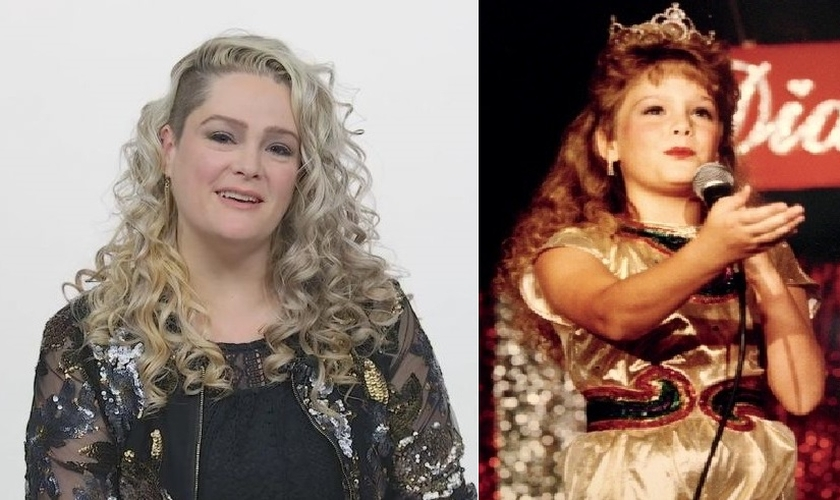 Jennifer McGill adulta (esquerda) e nos tempos do estrelato infantil (direita). (Foto: Fox)
