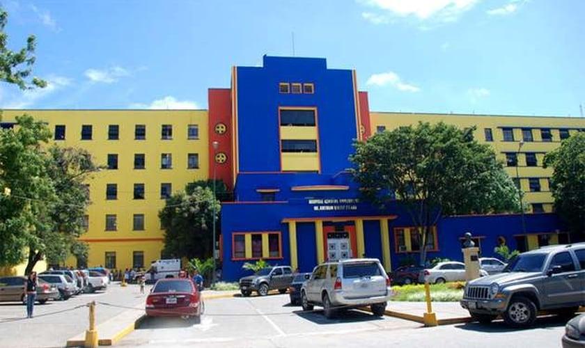 O Hospital Antonio María Peneda atende mais de 10 mil pessoas gratuitamente todos os dias. (Foto: Evangelical Focus)
