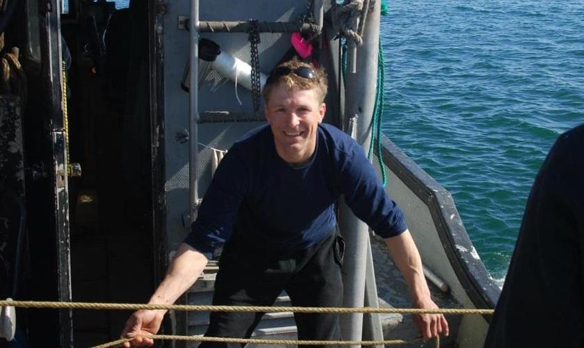Christian Trosvig é capitão de um barco de pesca no Alasca. (Foto: Facebook)