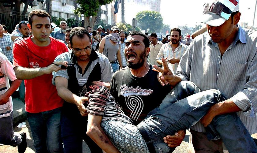 Gamal foi levado para uma sala separada e depois disso foi encontrado morto. (Foto: Reuters).