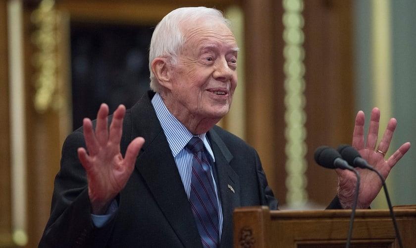 Jimmy Carter foi o 39º presidente dos Estados Unidos. (Foto: Time)