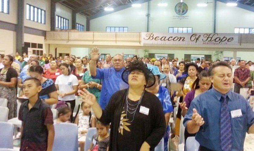 Cerca de 75% da população do país se declarou evangélica. (Foto: Reprodução).