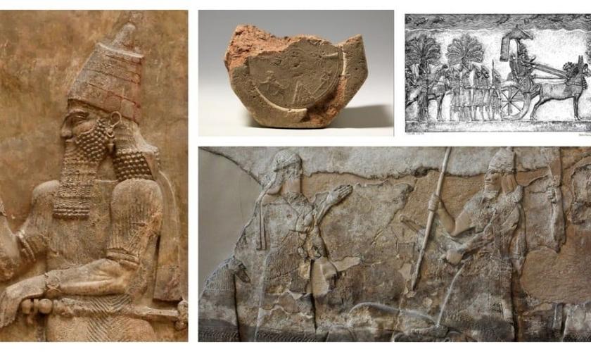 Personagens bíblicos verificados foram verificados como Sargão II, Assaradão, Senaqueribe e Tiglate-Pileser III. (Foto: Domínio Público)