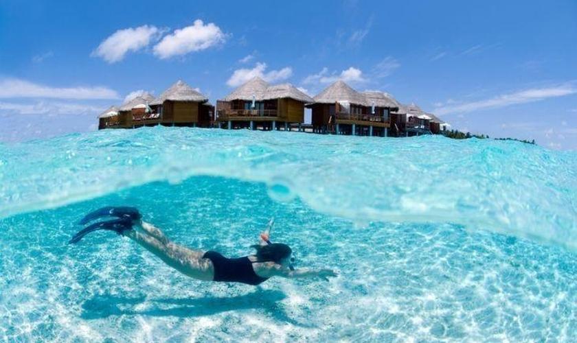 As Ilhas Maldivas estão localizadas no Oceano Índico, a sudoeste do Sri Lanka e da Índia. (Foto: iStock)