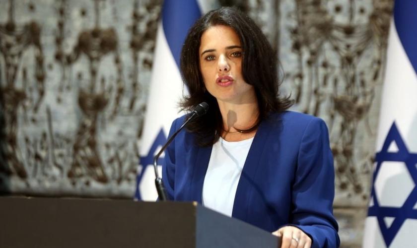 A Ministra de Justiça denunciou a última resolução da ONU sobre Israel. (Foto: Reprodução).
