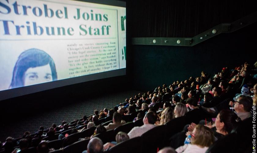Sessão exclusiva do filme na Barra da Tijuca, no Rio de Janeiro. (Foto: Divulgação)