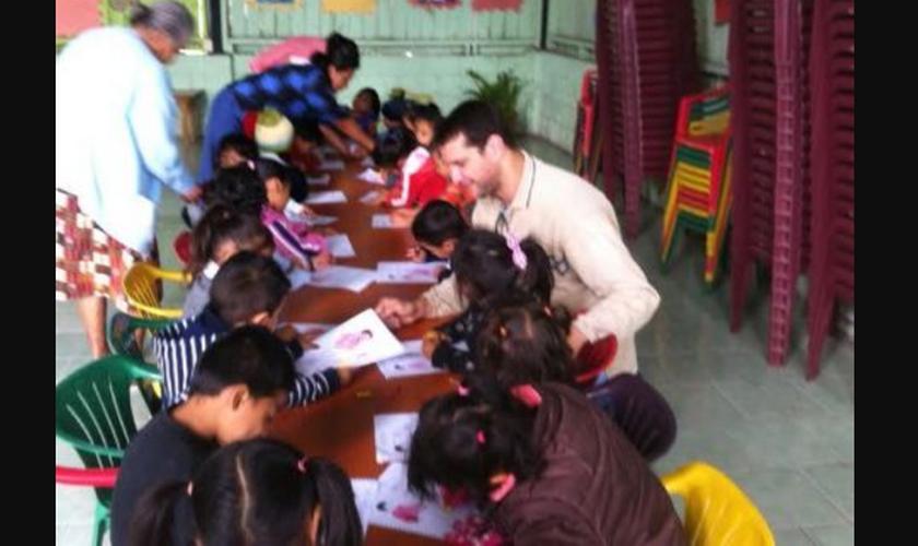 O missionário Rodrigo Pinheiro está em Guatemala há quase quatro anos. (Foto: Missões Mundiais).