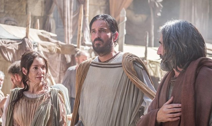 """Este é o primeiro papel bíblico de Jim Caviezel desde 2004 em """"A paixão do Cristo"""". (Foto: Affirm Films)."""
