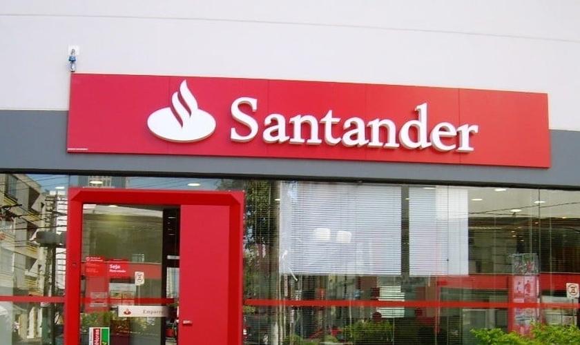 Banco Santander. (Foto: zipbr.com)