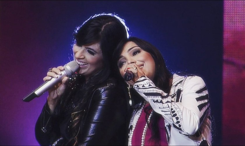 Fernanda e Eyshila anunciaram a tour especial. (Foto: Reprodução).