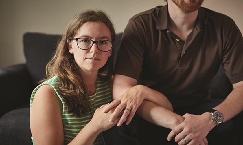 Depois de deixar a homossexualidade, Rachel Gilson se casou com um homem. (Foto: Ken Richardson)