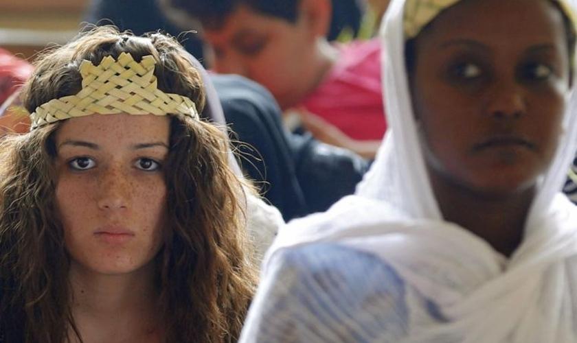 As garotas são vendidas como escravas sexuais. (Foto: Reuters).