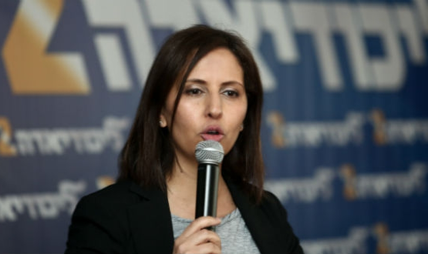 Gila Gamliel é ministra da Igualdade Social de Israel. (Foto: Breaking Israel News)