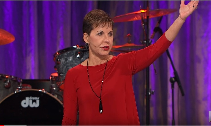 Joyce Meyer é escritora e palestrante. (Imagem: Youtube)