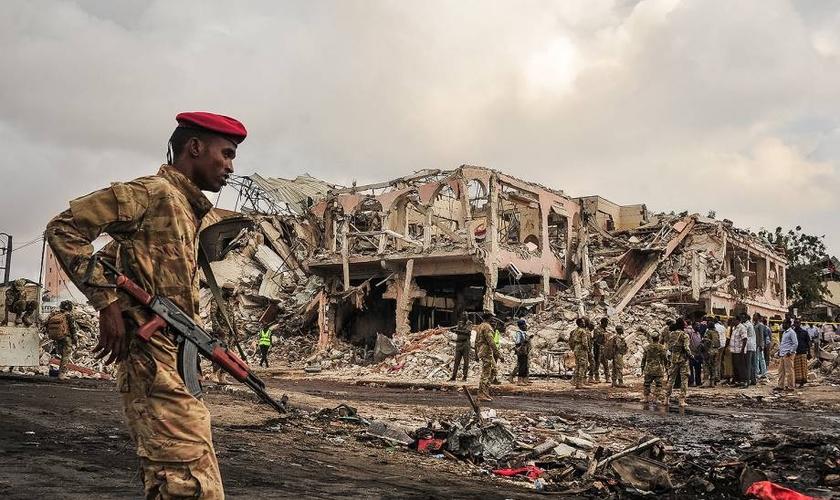 A Somália ocupa a segunda posição na Lista Mundial da Perseguição. (Foto: AFP).