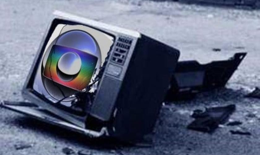 A hashtag globolixo está bombando nas mídias sociais nos últimos dias. (Imagem: luizmuller.com)