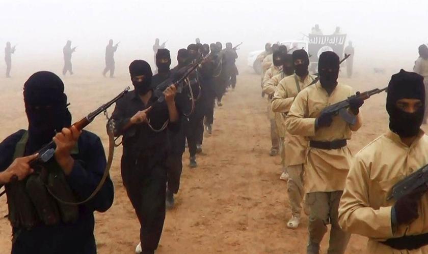 O Estado Islâmico está em grande parte na região. (Foto: Reprodução).