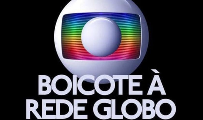 Rede Globo tem se tornado alvo de diversos protestos, após promover uma agenda que ataca os valores da Família. (Imagem: Gshow)