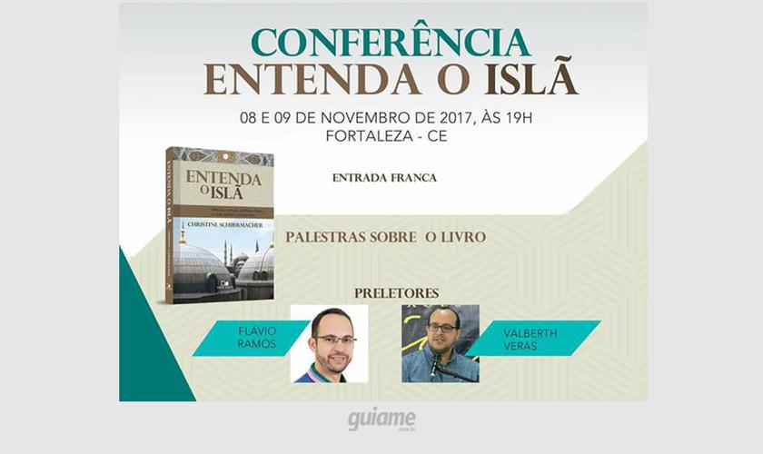 O evento acontece no Seminário e Instituto Bíblico Maranata (Sibima), em Fortaleza. (Foto: Divulgação).