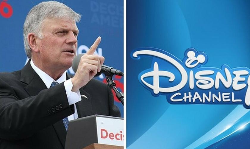 Franklin Graham (esquerda) alertou sobre a militância LGBTQ, infiltrada na Disney. (Imagem: Western Journal)