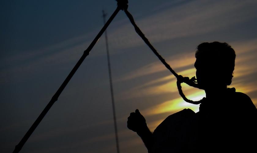 A maioria das execuções são em países como China, Irã, Arábia Saudita, Iraque e Paquistão. (Foto: Reprodução).