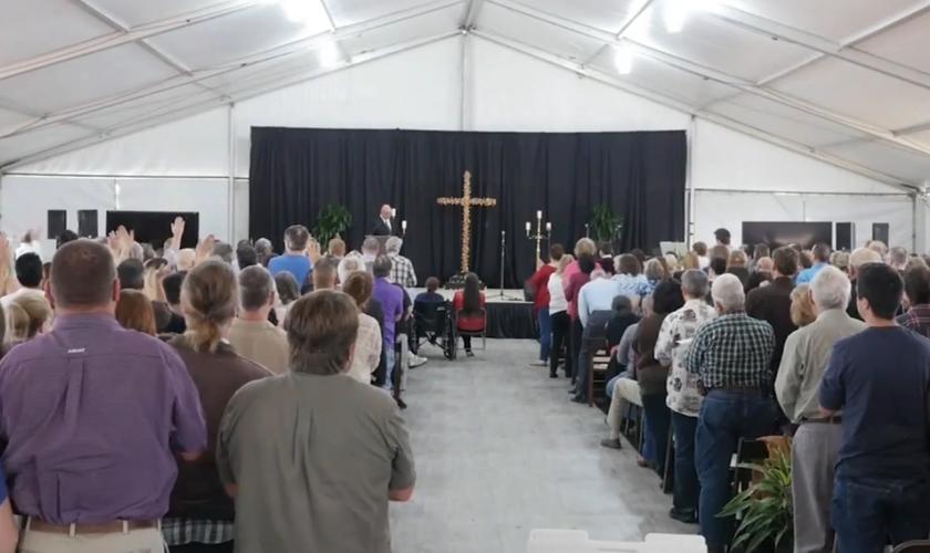 Este foi o maior encontro em 100 anos de história da igreja. (Foto: Reprodução).