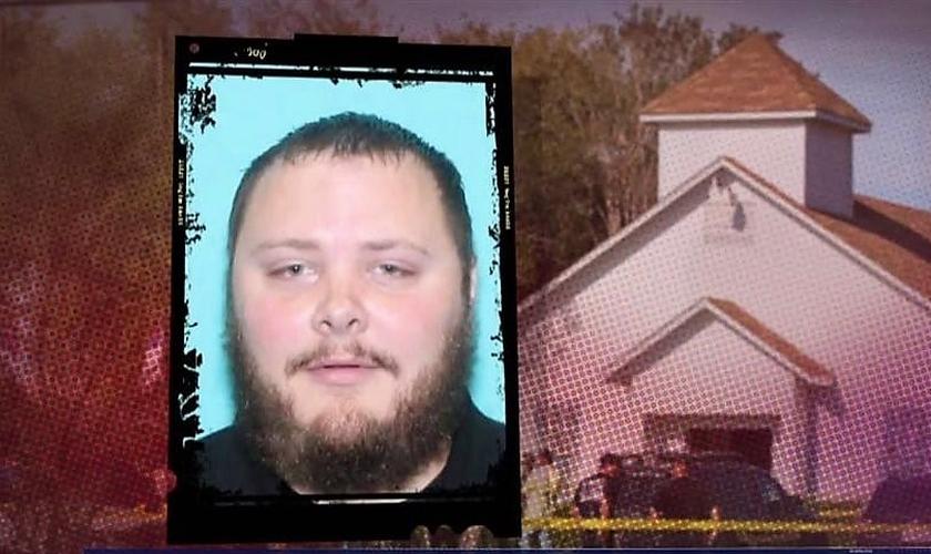 Devin Kelley é o responsável pelo tiroteio que matou mais de 25 e deixou dezenas de feridos. (Foto: NBC News)