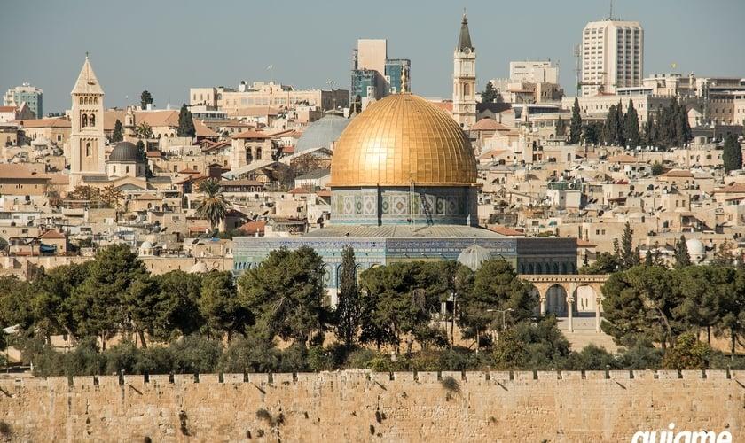 Os Estados Unidos reconheceram Jerusalém como capital de Israel. (Foto: Guiame/Marcos Paulo Corrêa)