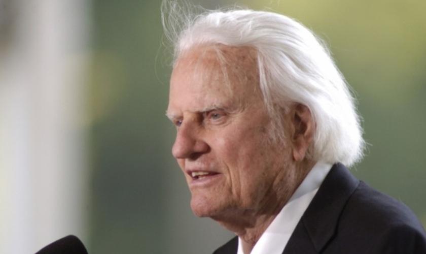 Billy Graham chega aos 99 anos deixando um legado de evangelismo. (Foto: BGEA)