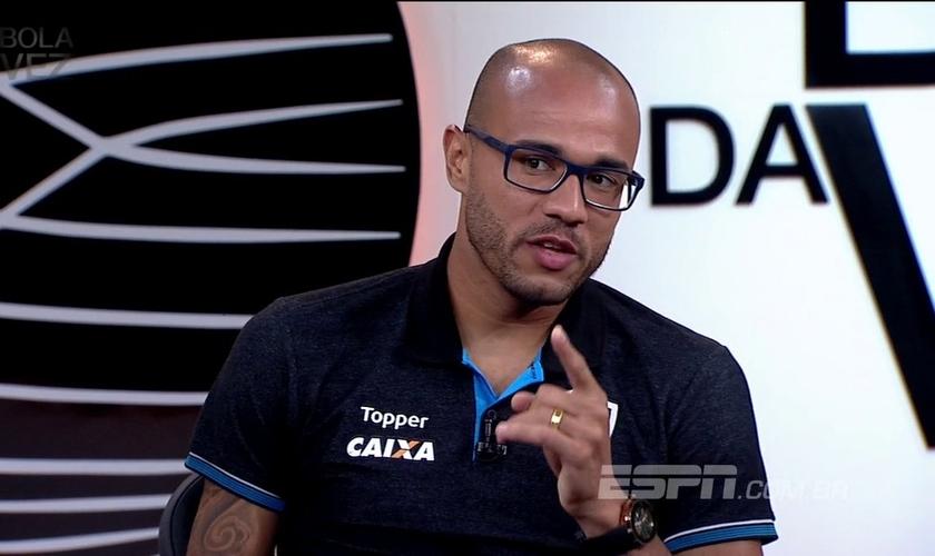 Atacante Roger, recém contratado pelo Sport Club Internacional. (Foto: ESPN Brasil)
