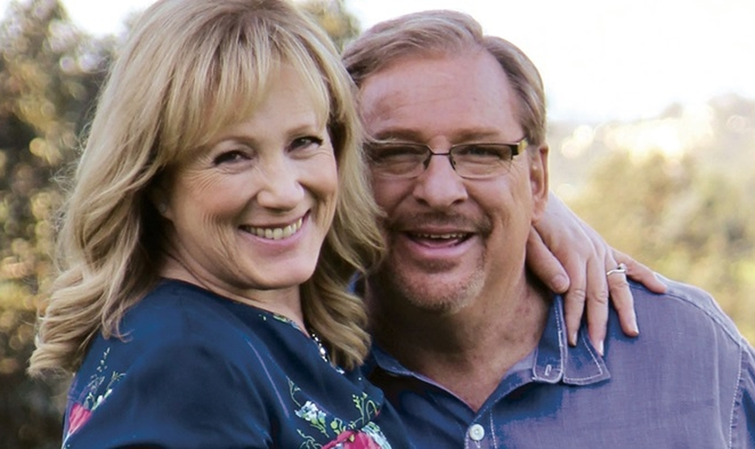 Kay e Rick Warren. (Foto: Christianity Today)