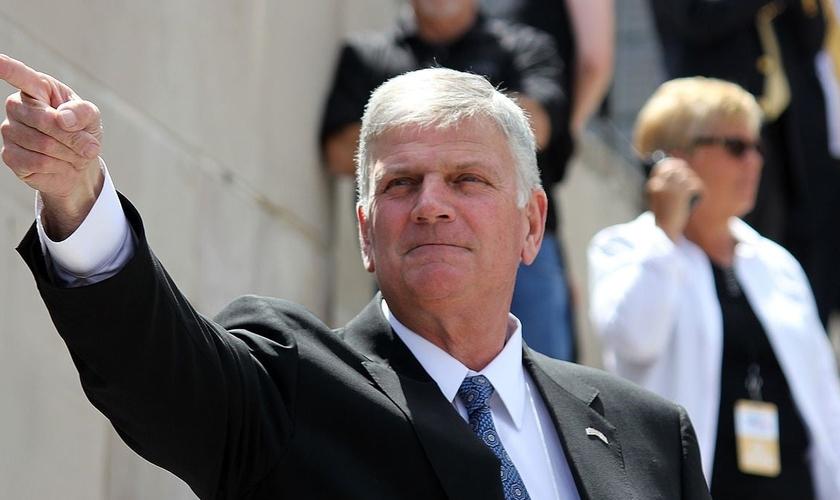 Pastor Franklin Graham é diretor da Associação Evangelística Billy Graham e da Bolsa do Samaritano. (Foto: BGEA)