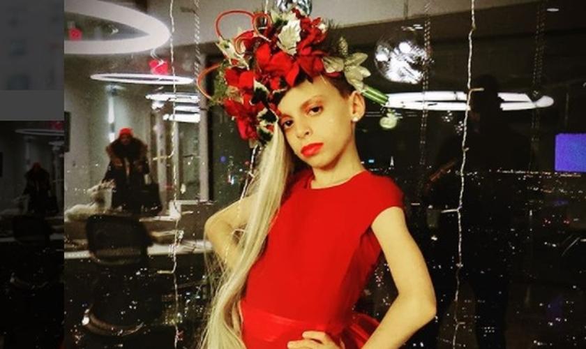 Desmond Napoles tem apenas 10 anos e atua como Drag Queen desde 2014. (Foto: Instagram)