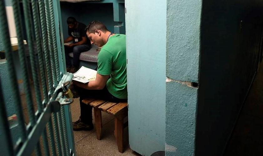 A Adesão ao programa é opcional por parte do preso. (Foto: Douglas Magno/VEJA.com)