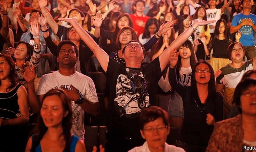 Evangélicos já somam mais de 200 milhões em toda a Ásia. (Foto: Reuters)