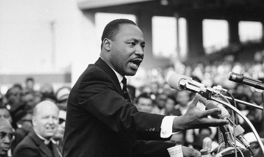 Martin Luther King Jr. fez um discurso em Washington, capital dos Estados Unidos no dia de 28 de agosto de 1963. (Foto: Reprodução).