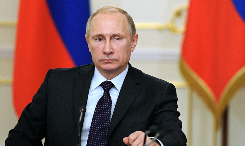 Vladimir Putin é presidente da Rússia. (Foto: