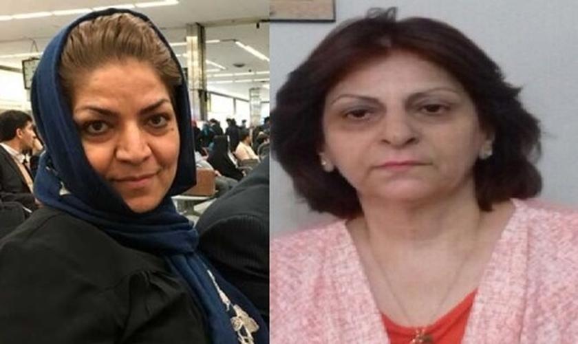 Shamiram Isavi Khabizeh é esposa de um pastor que também foi condenado a 10 anos de prisão por evangelizar, no Irã. (Foto: Guiame - Edição)