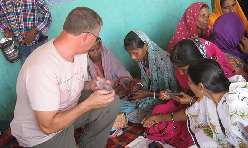 Atualmente o missionário está trabalhando na plantação de cinco igrejas na região. (Foto: Reprodução).