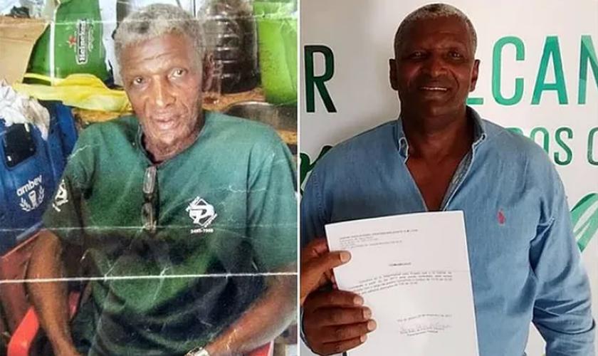 Gilmar passou 50 anos sem estudar, mas teve oportunidade de voltar à escola com a ajuda de missionários. (Foto: Reprodução).