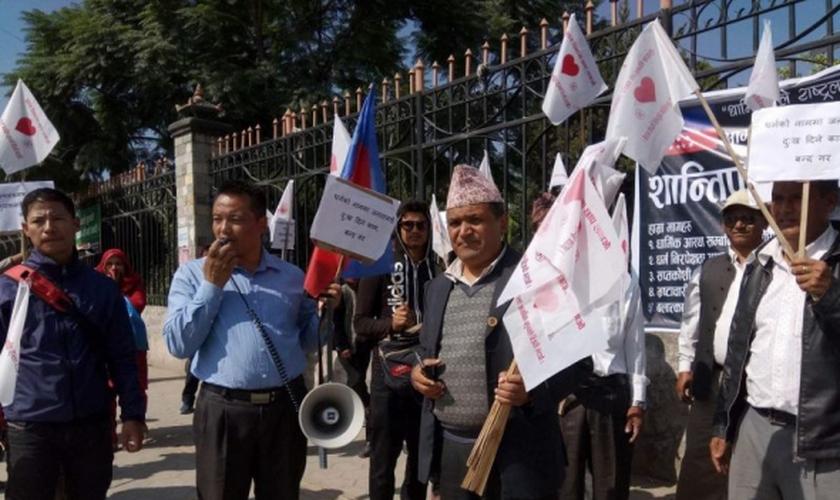 O Nepal está na lista dos países que mais sofrem perseguição religiosa no mundo. (Foto: Bharat Giri).
