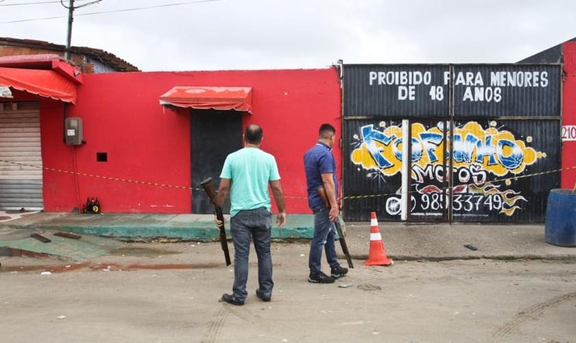 """O local que abrigava o """"Forró do Gago"""" vai virar uma igreja evangélica, em Fortaleza. (Foto: Evilázio Bezerra/O Povo)"""