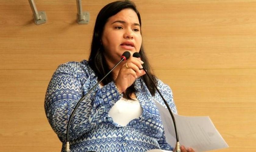 MIchele Collins é vereadora em Recife - PE. (Foto: UOL)